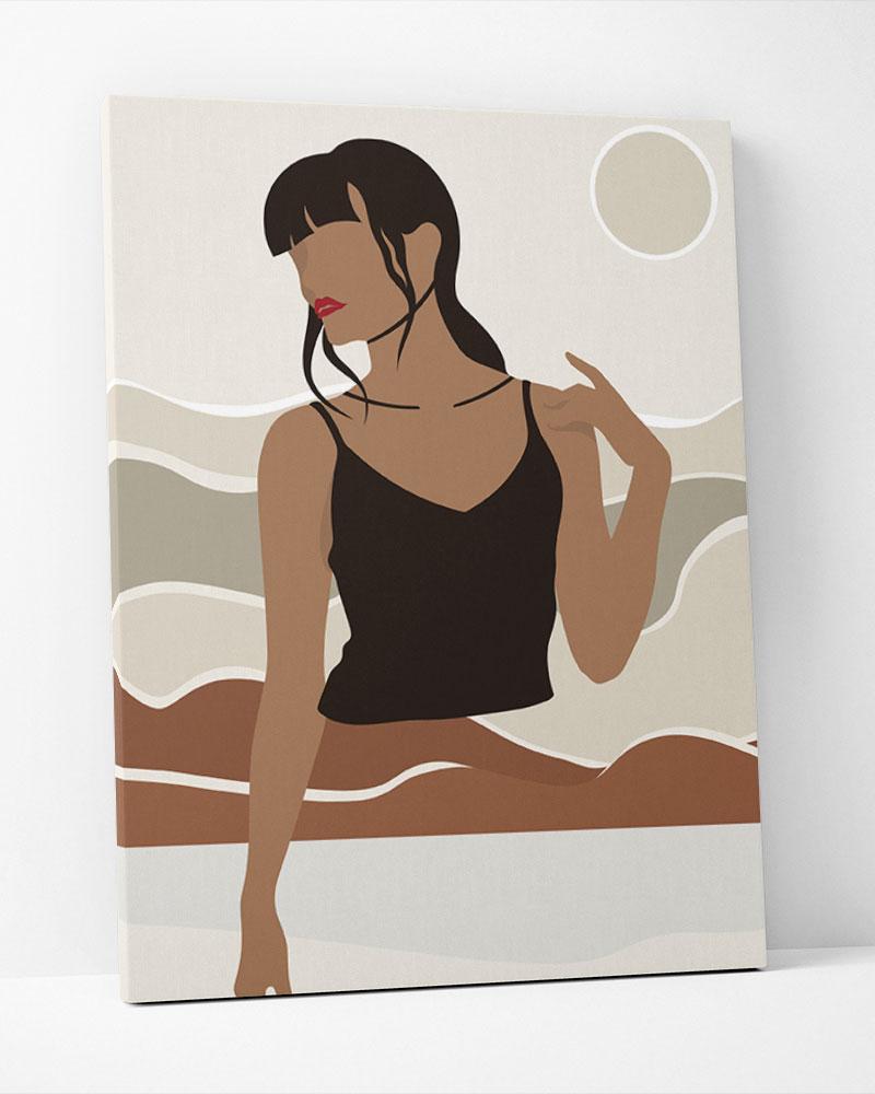 Placa Decorativa Mulheres I