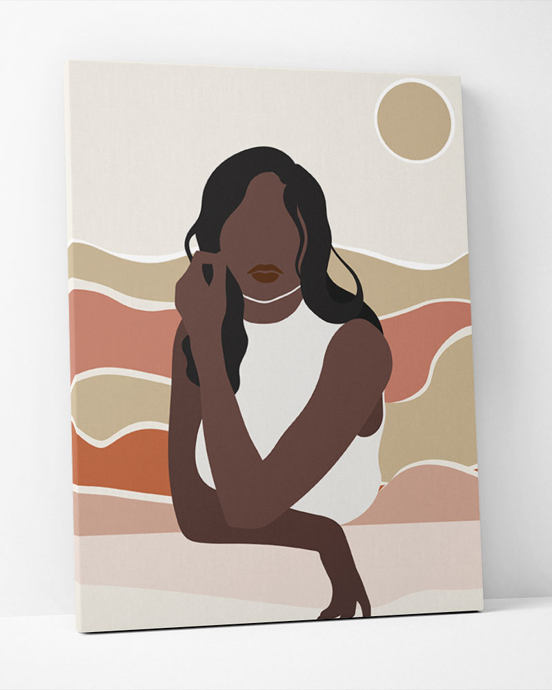 Placa Decorativa Mulheres II