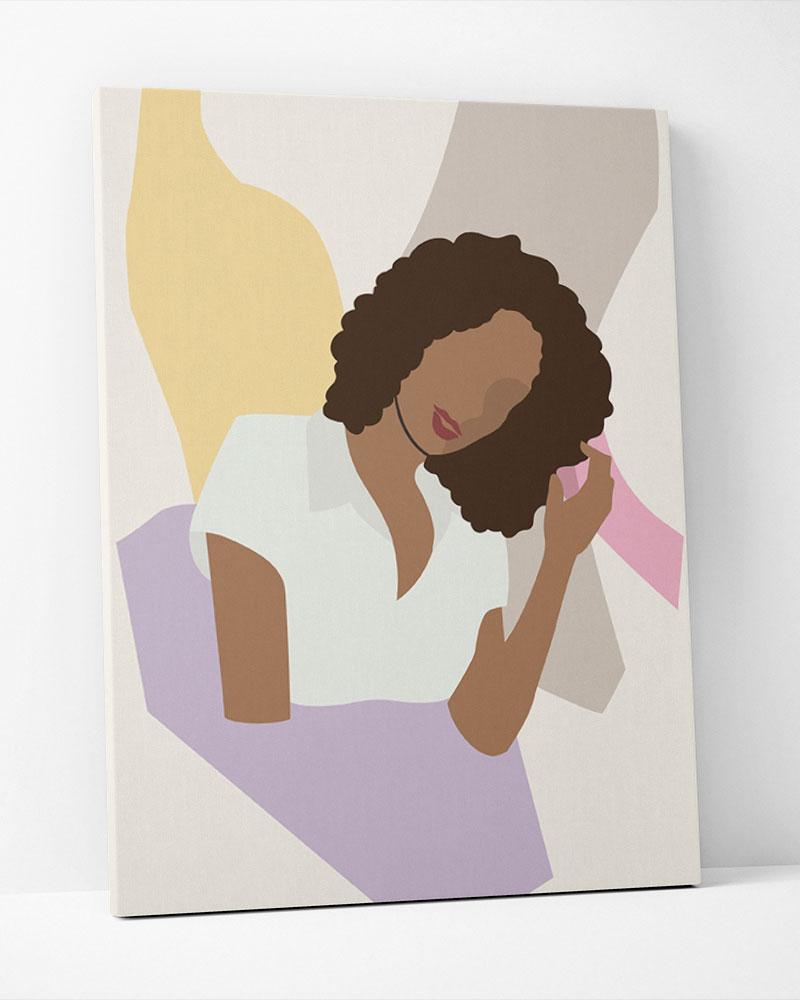 Placa Decorativa Mulheres V