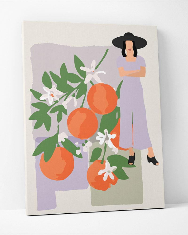 Placa Decorativa Mulheres VI