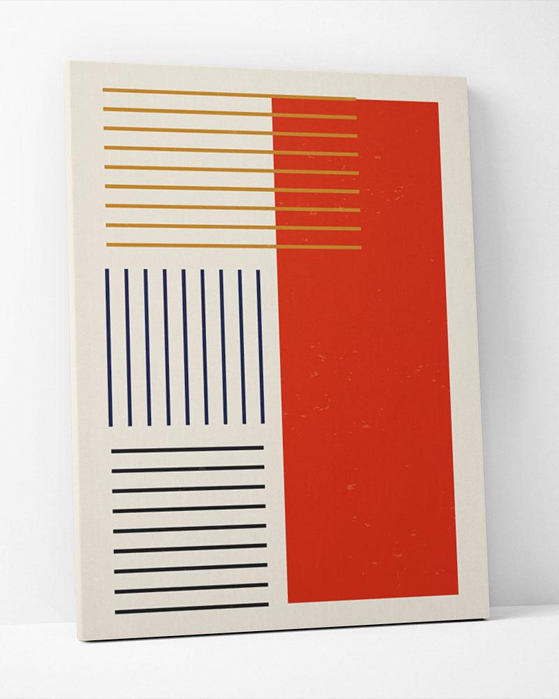 Placa Decorativa Nave Red IV