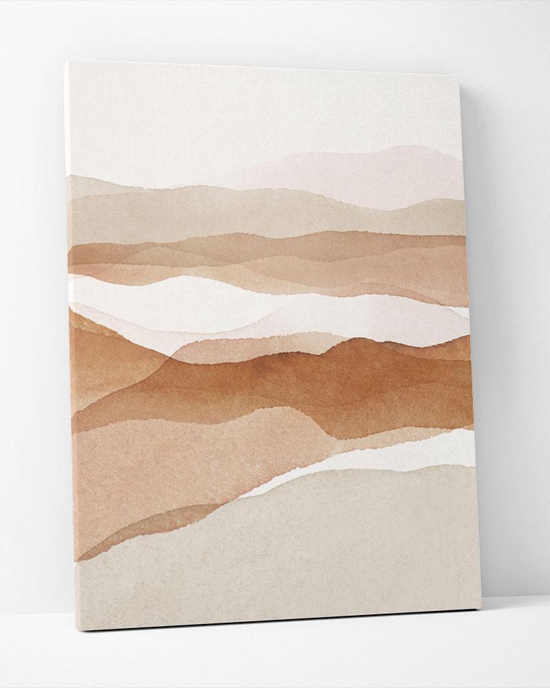 Placa Decorativa No Calor Do Deserto