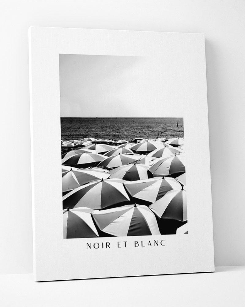 Placa Decorativa Noiret Blanc La-Place