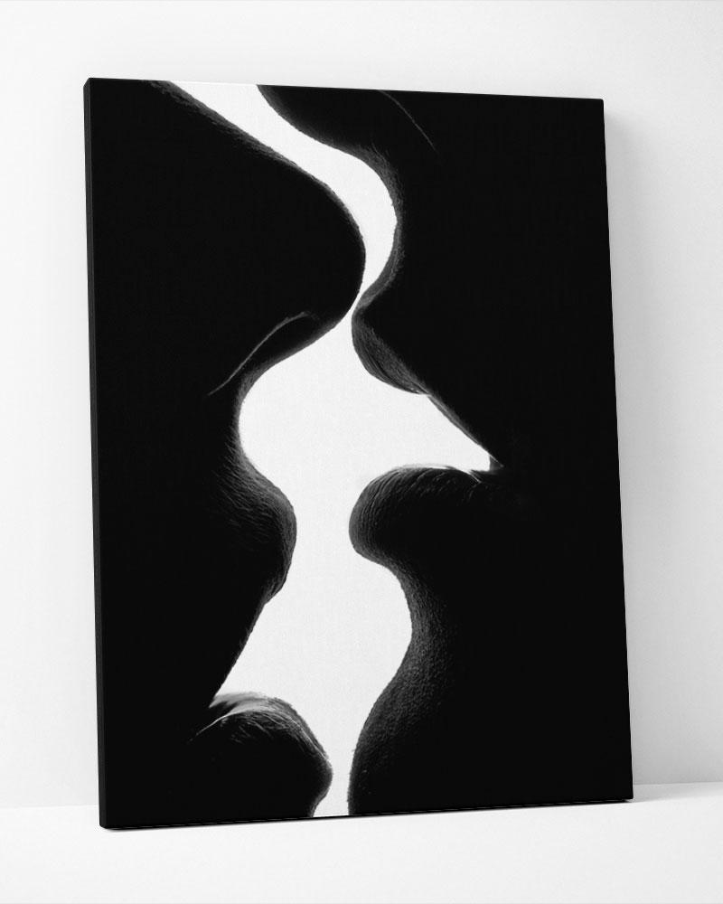 Placa Decorativa  O Beijo