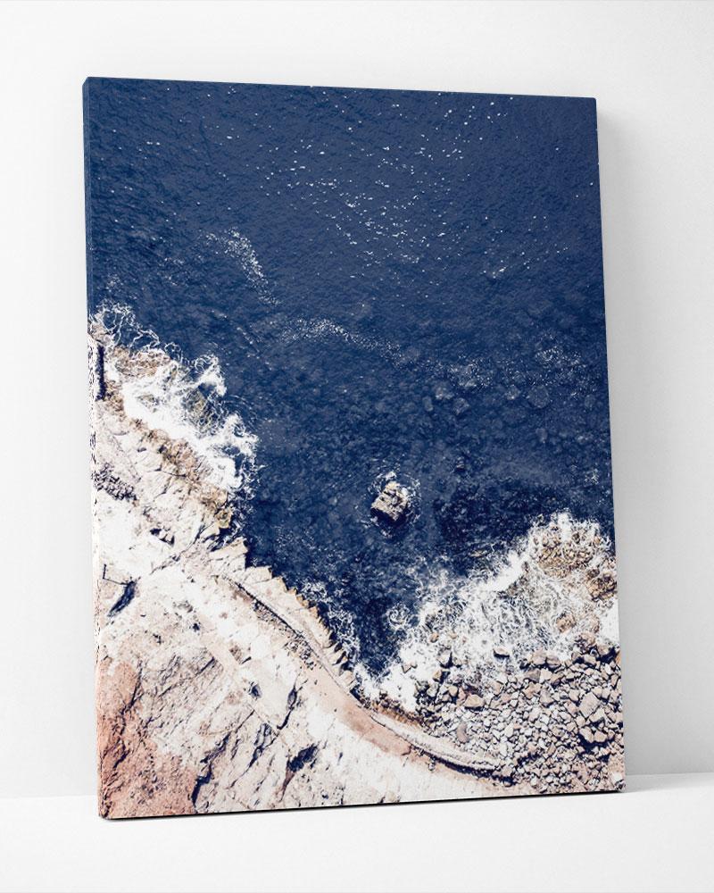 Placa Decorativa Oceano Azul