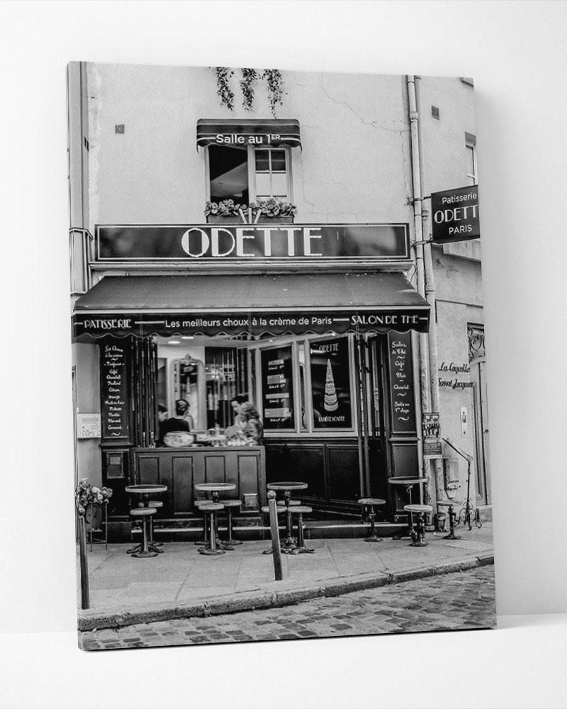 Placa Decorativa Odette Café