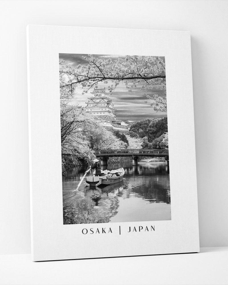 Placa Decorativa Osaka-Japan