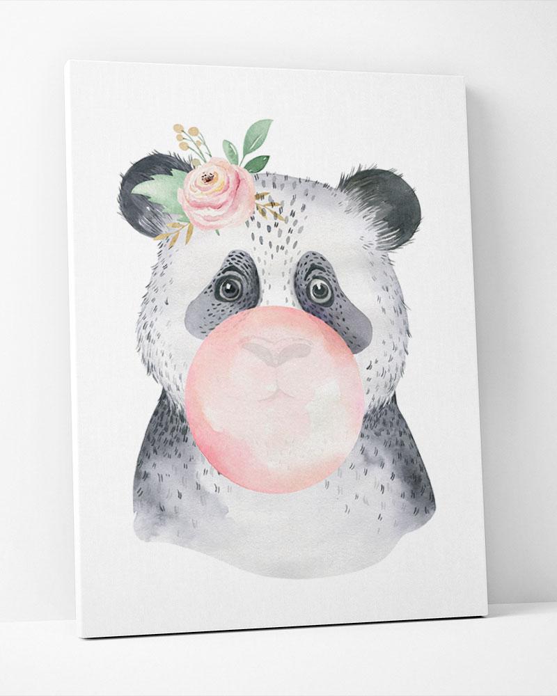 Placa Decorativa Panda  Baby