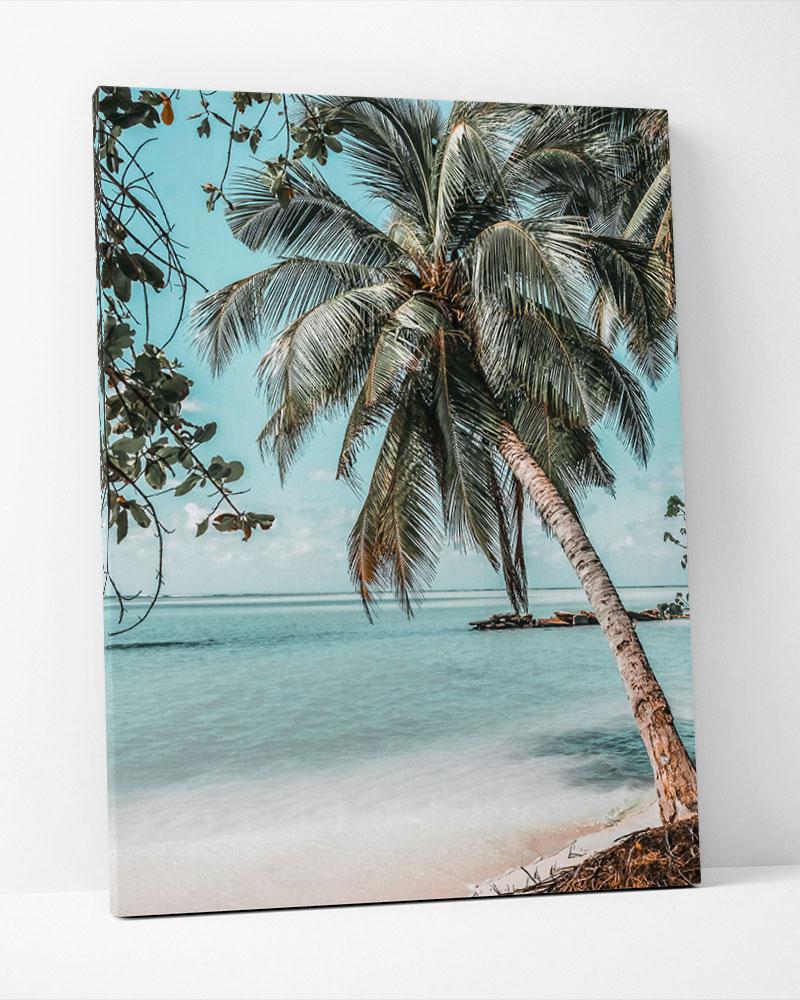 Placa Decorativa Paraíso Tropical