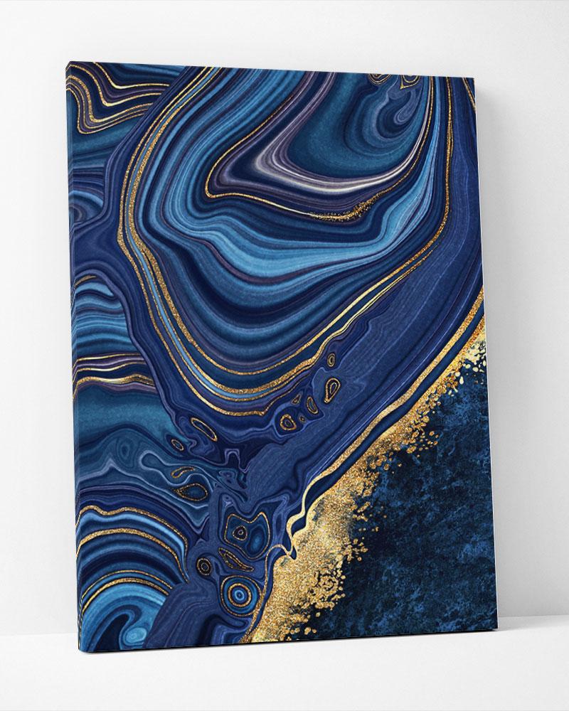 Placa Decorativa Pedra Azul I