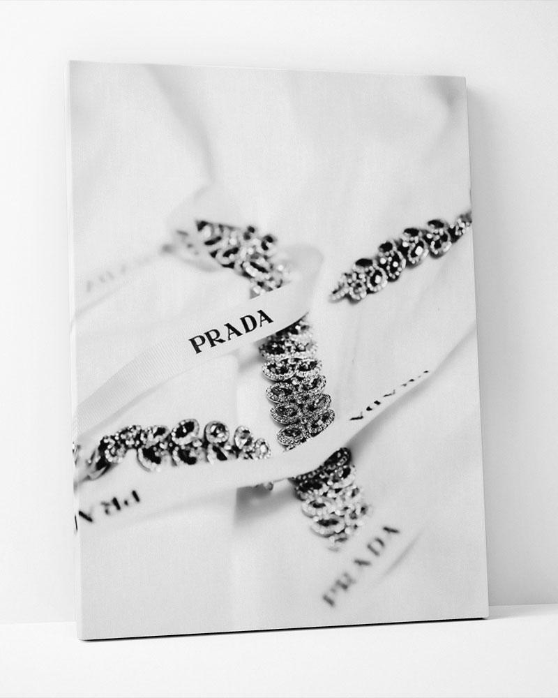 Placa Decorativa Prada Jewel