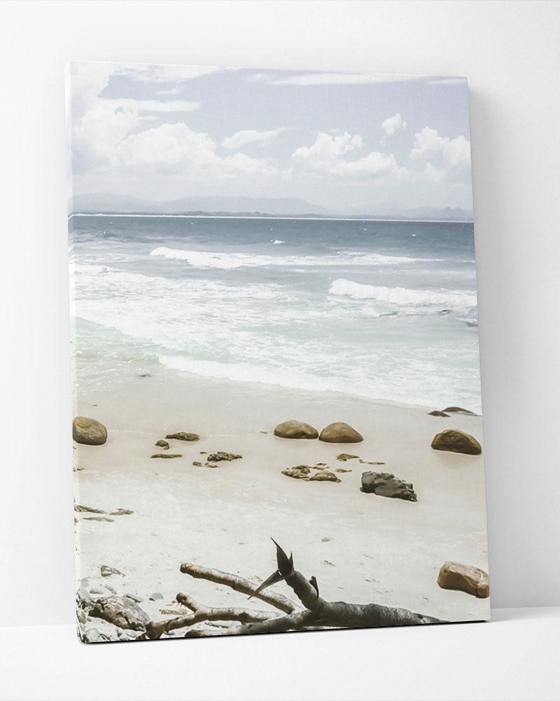 Placa Decorativa Praia Deserta