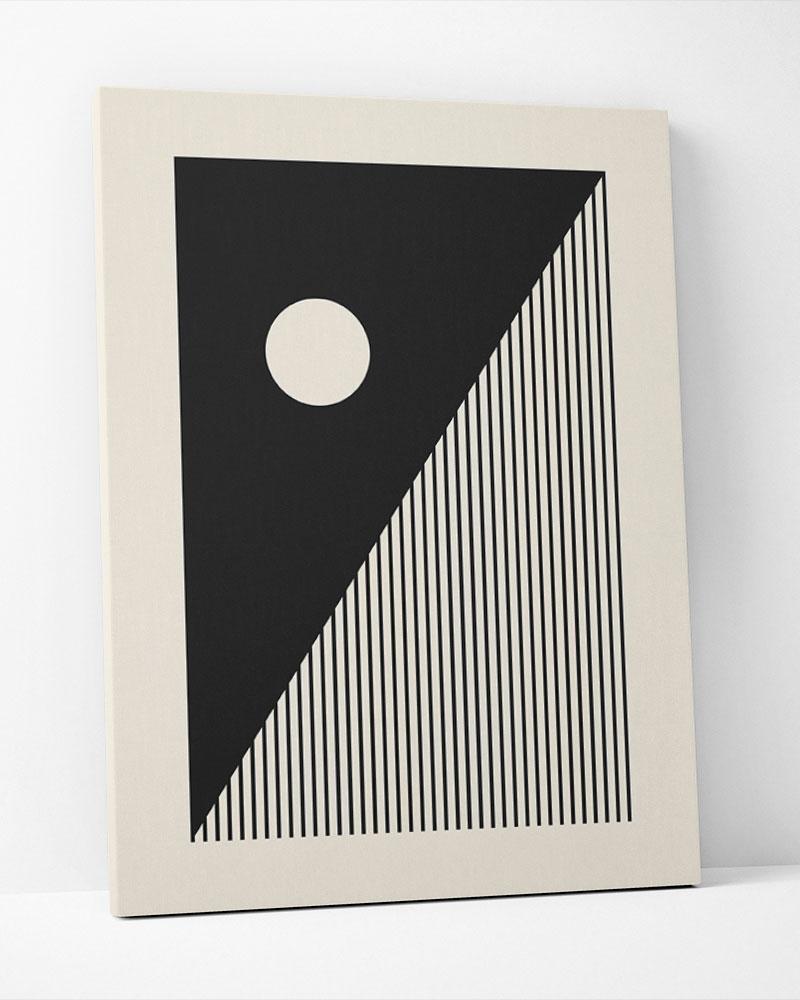 Placa Decorativa Shape Abstrato III