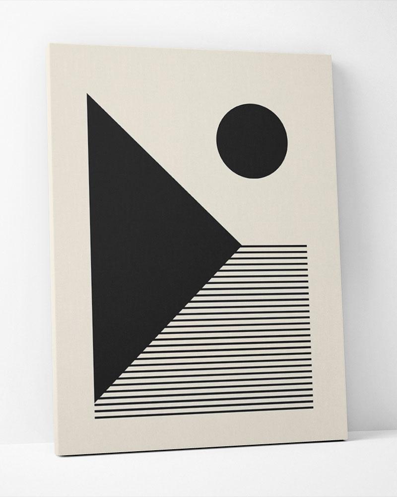 Placa Decorativa Shape Abstrato IV
