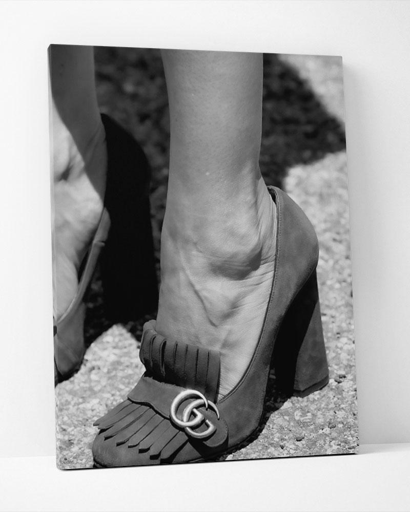 Placa Decorativa Shoes