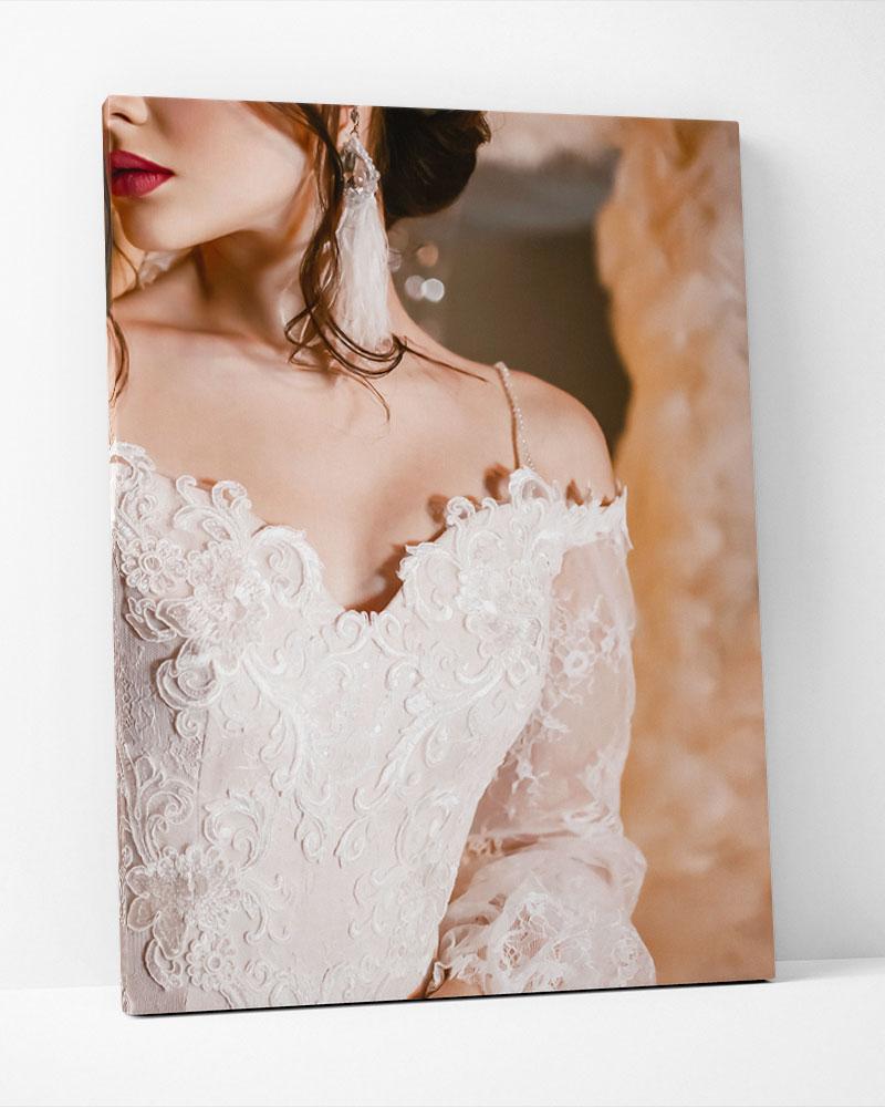Placa Decorativa Silver Bride