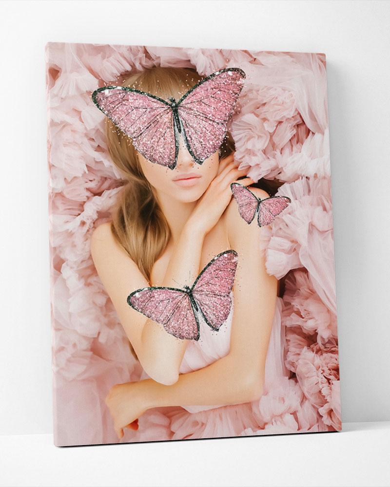 Placa Decorativa Sonho Rosé