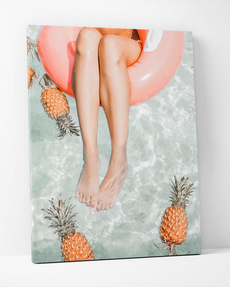 Placa Decorativa Tarde De Verão
