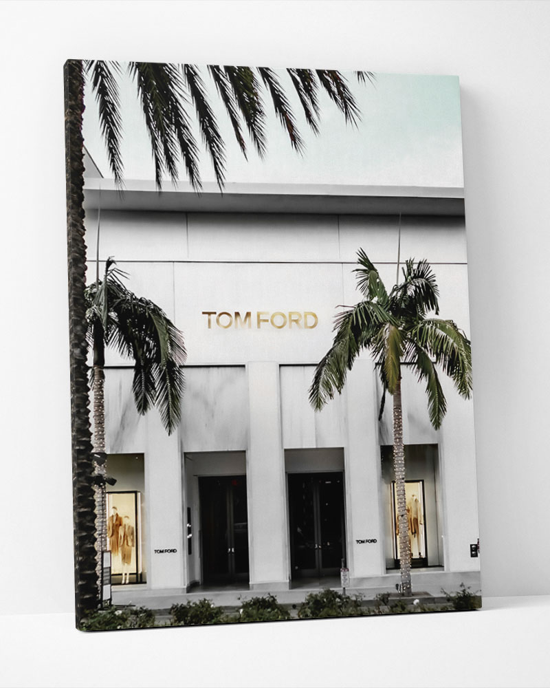 Placa Decorativa  Tom Ford Store