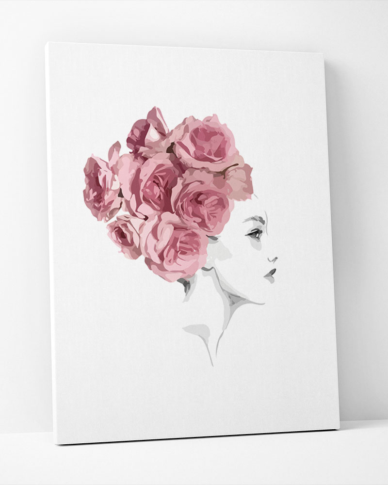 Placa Decorativa Turbante De Flores