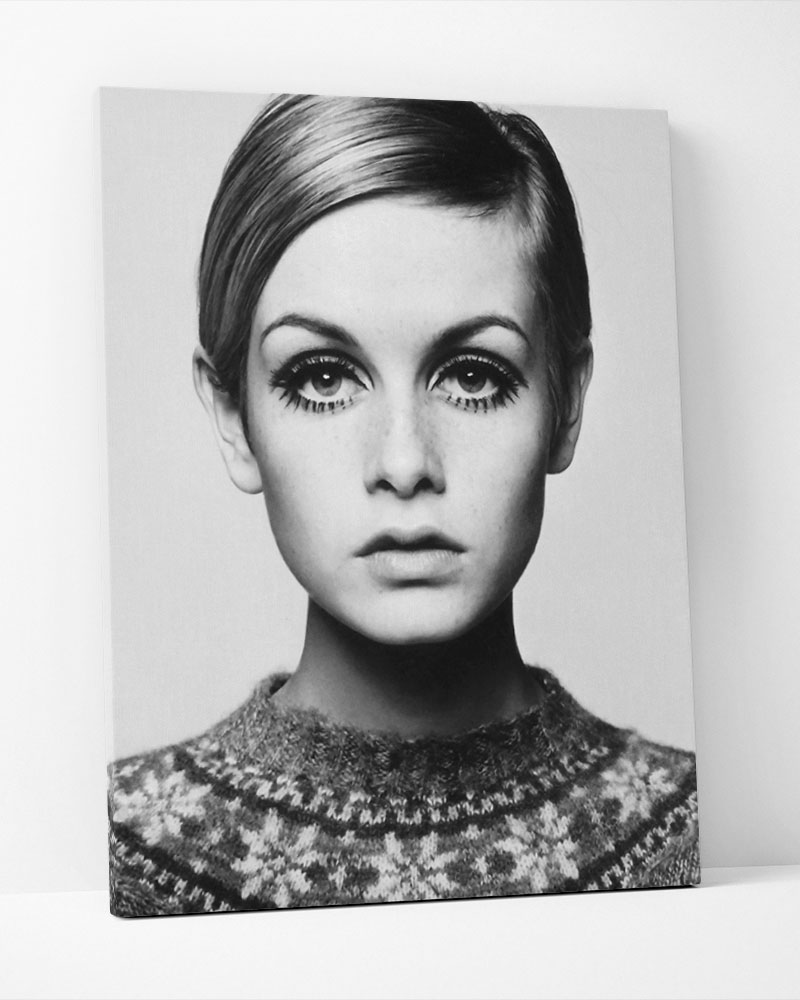 Placa Decorativa Twiggy