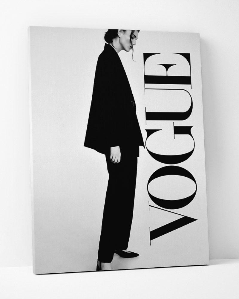 Placa Decorativa Vogue Model