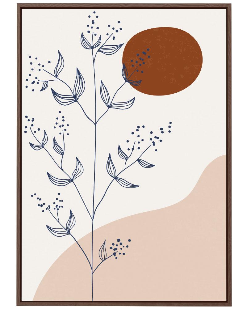 Quadro Abstração Floral II
