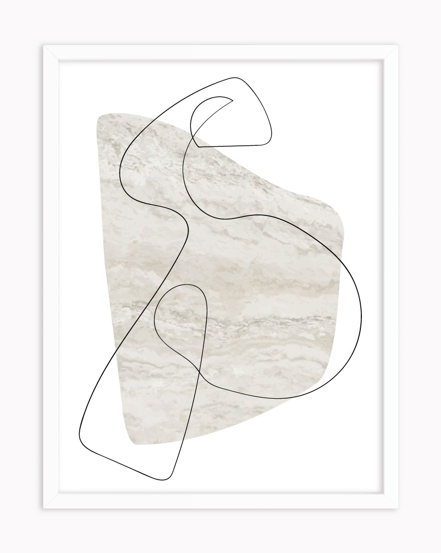 Quadro Abstract Marble