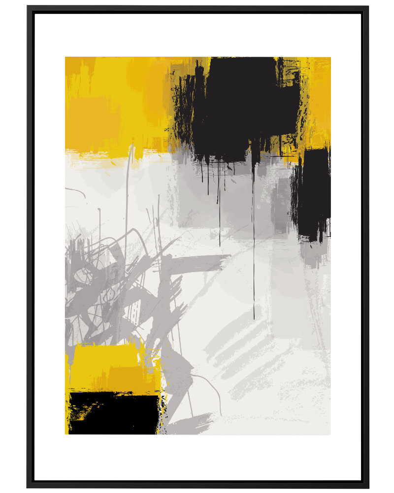 Quadro Abstrato Pantone 2021