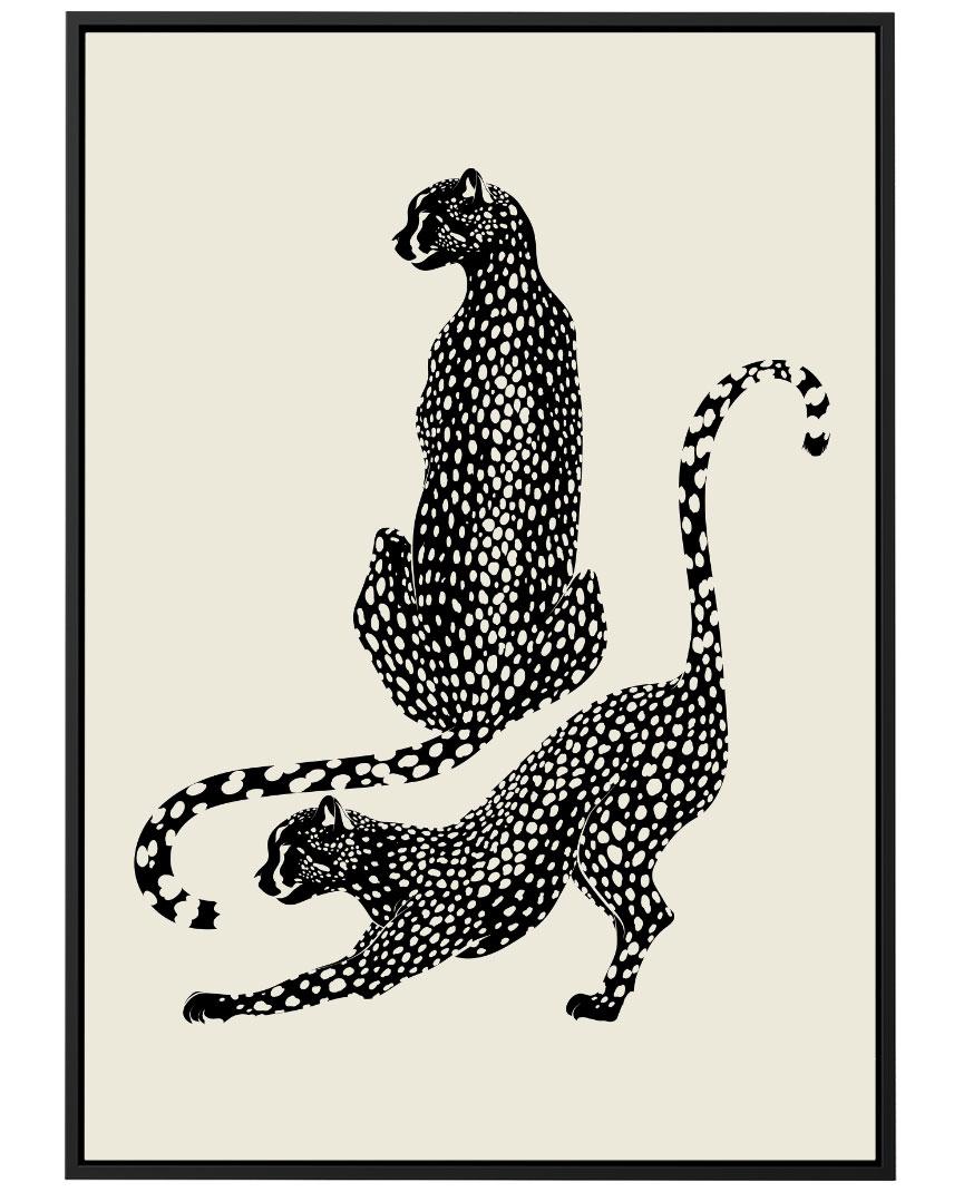 Quadro Animal Print