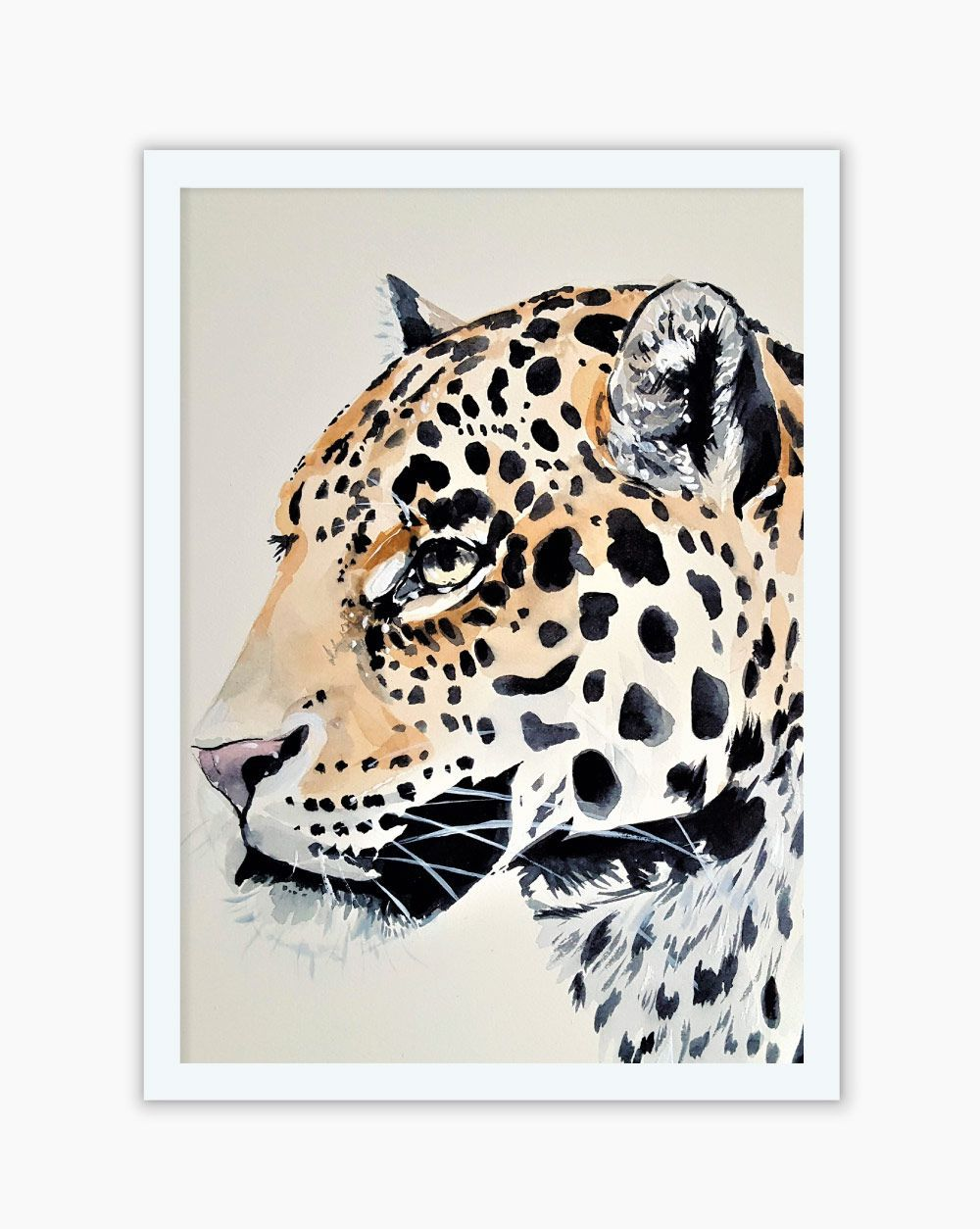Quadro Animal Print Watercolor