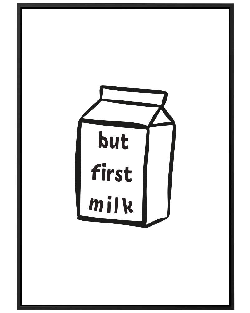 Quadro  Baby Milk