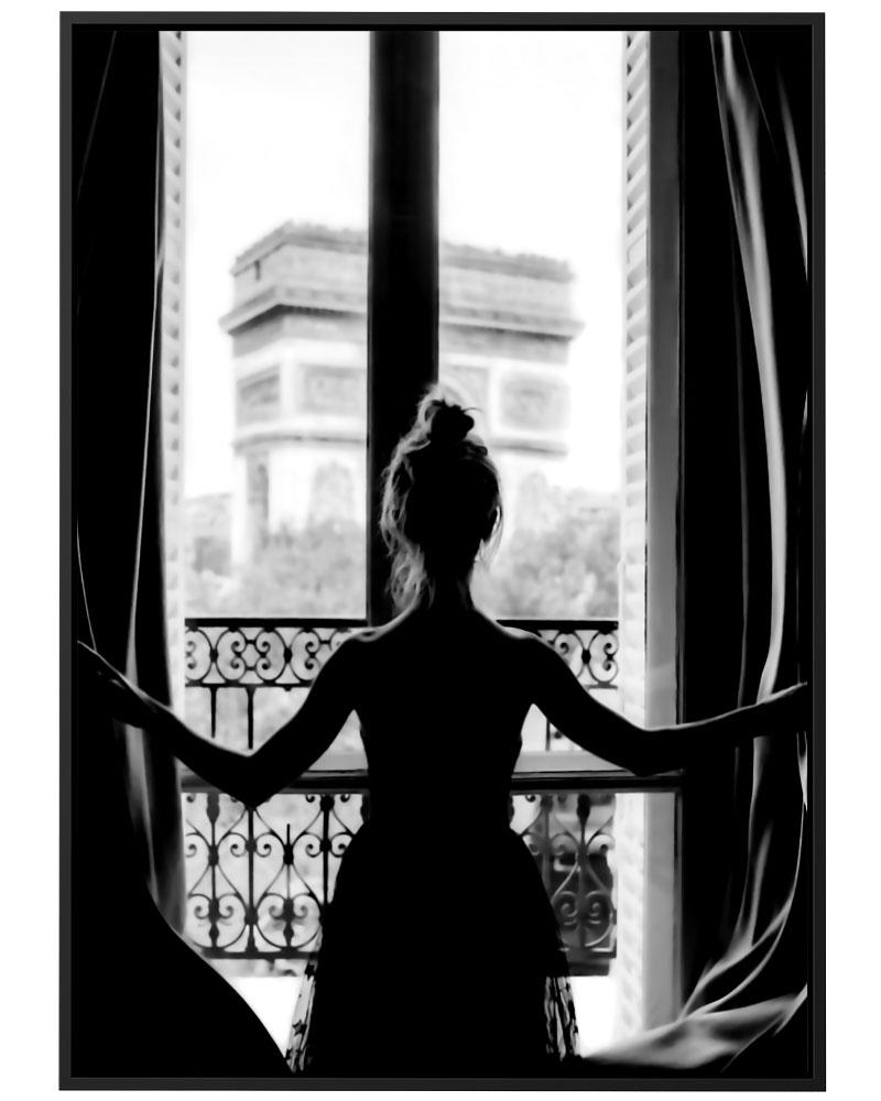 Quadro Bailarina Parisiense