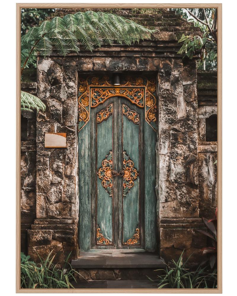 Quadro Bali Door