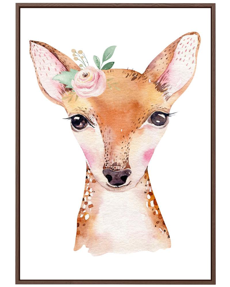 Quadro Bambi Baby Girl
