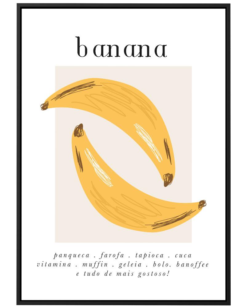 Quadro Bananas