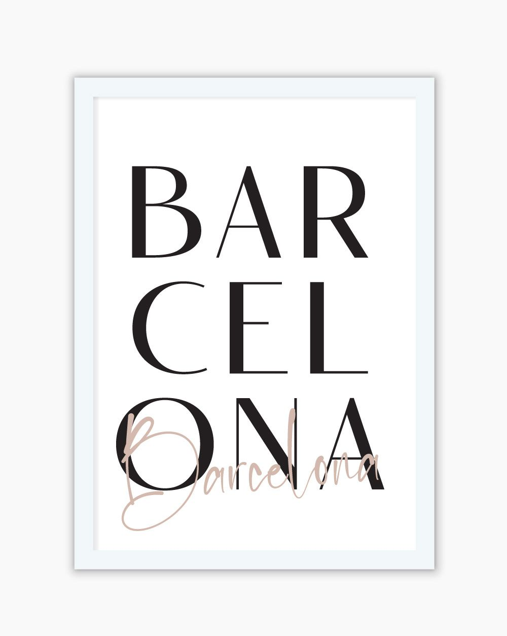 Quadro Barcelona