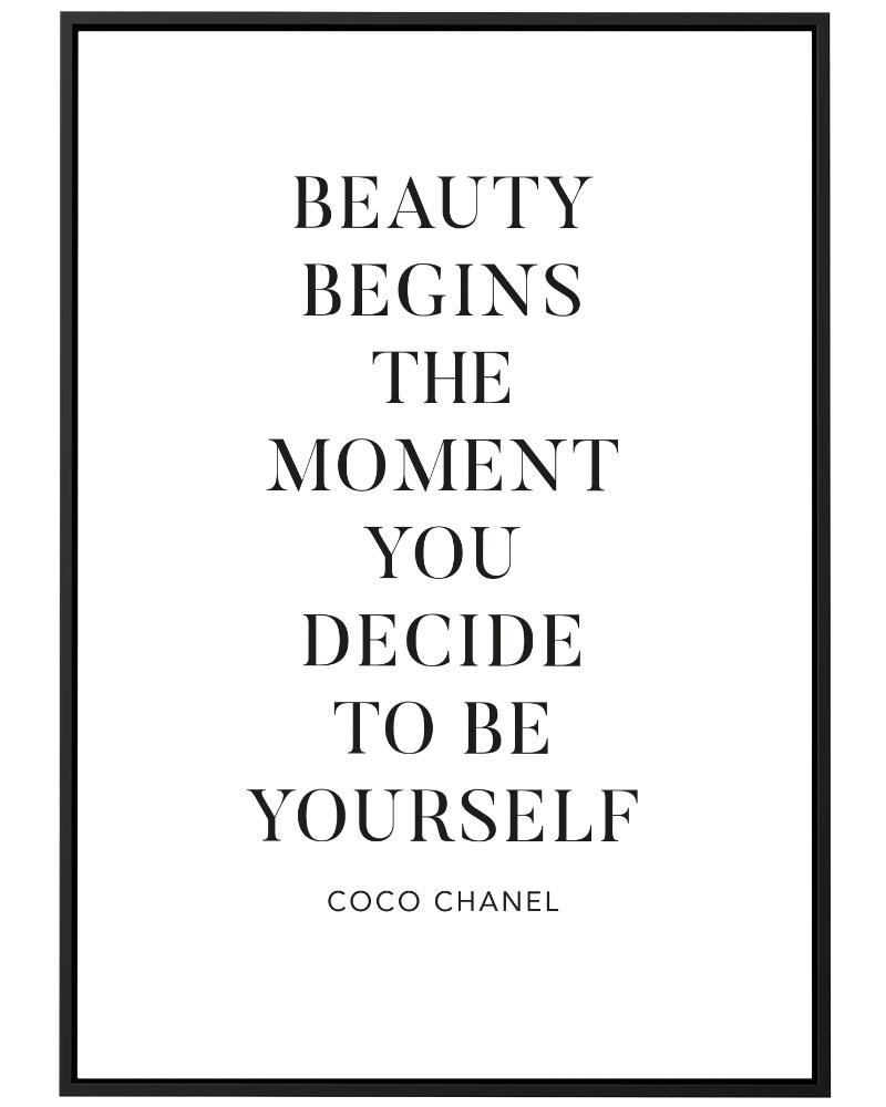 Quadro Beauty Chanel