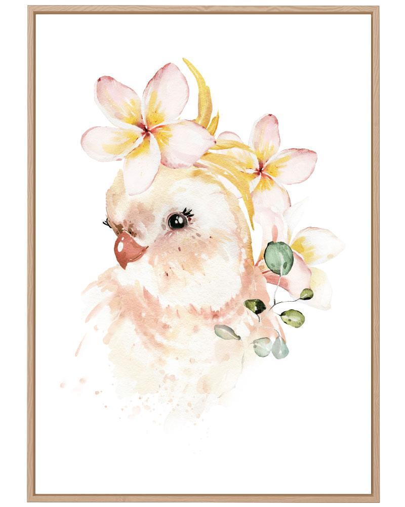 Quadro Bird Baby Girl