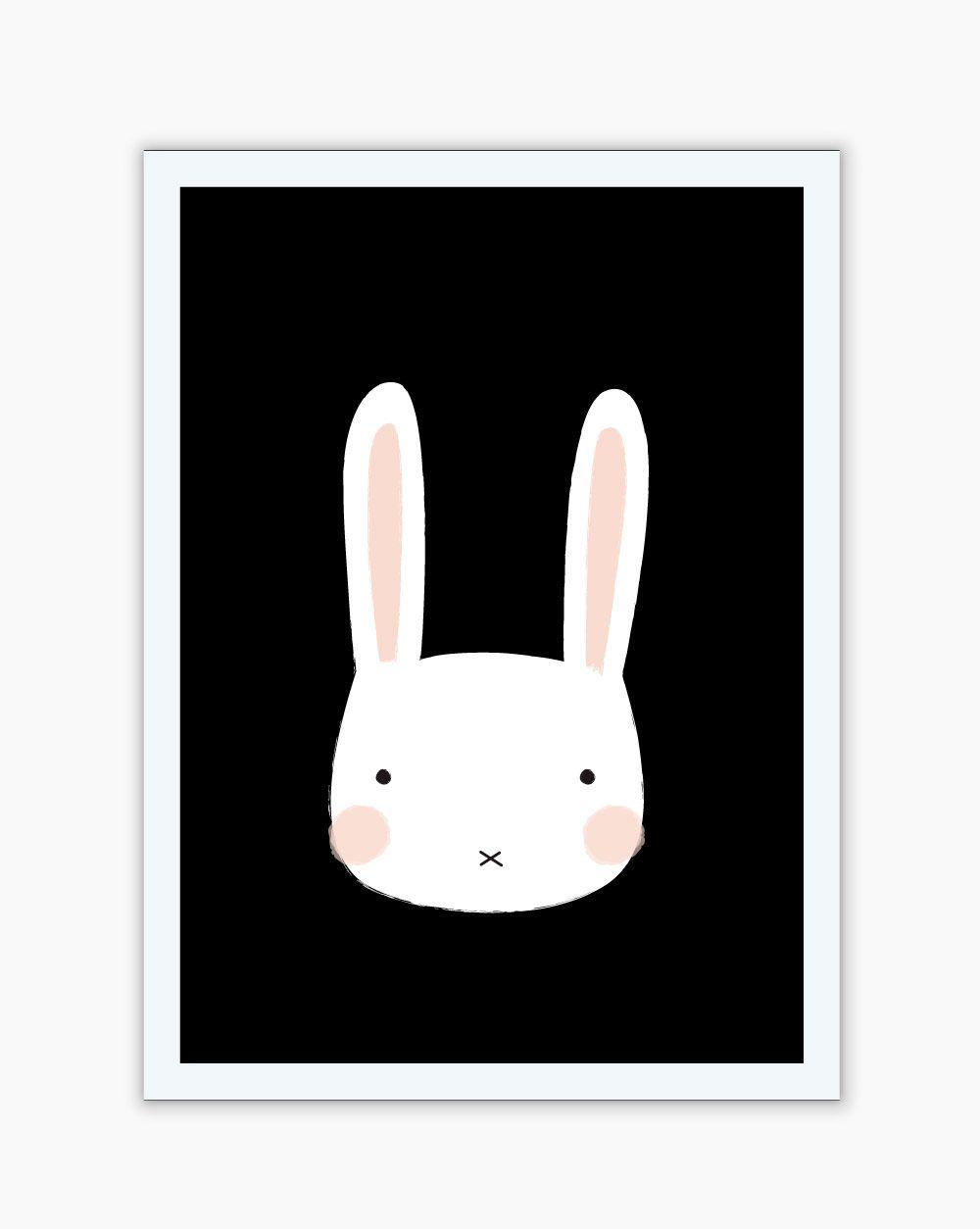 Quadro Black Funny Habbit