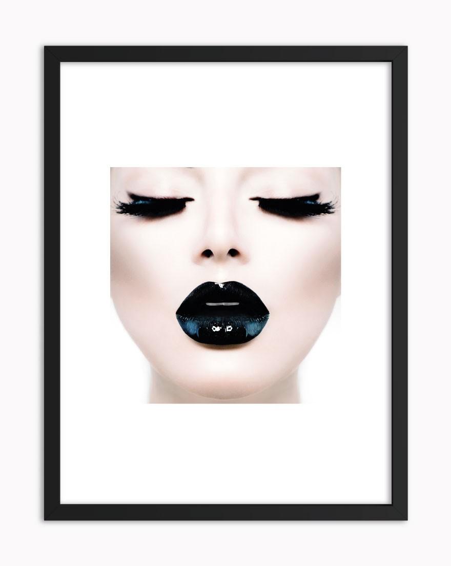 Quadro Black Lips
