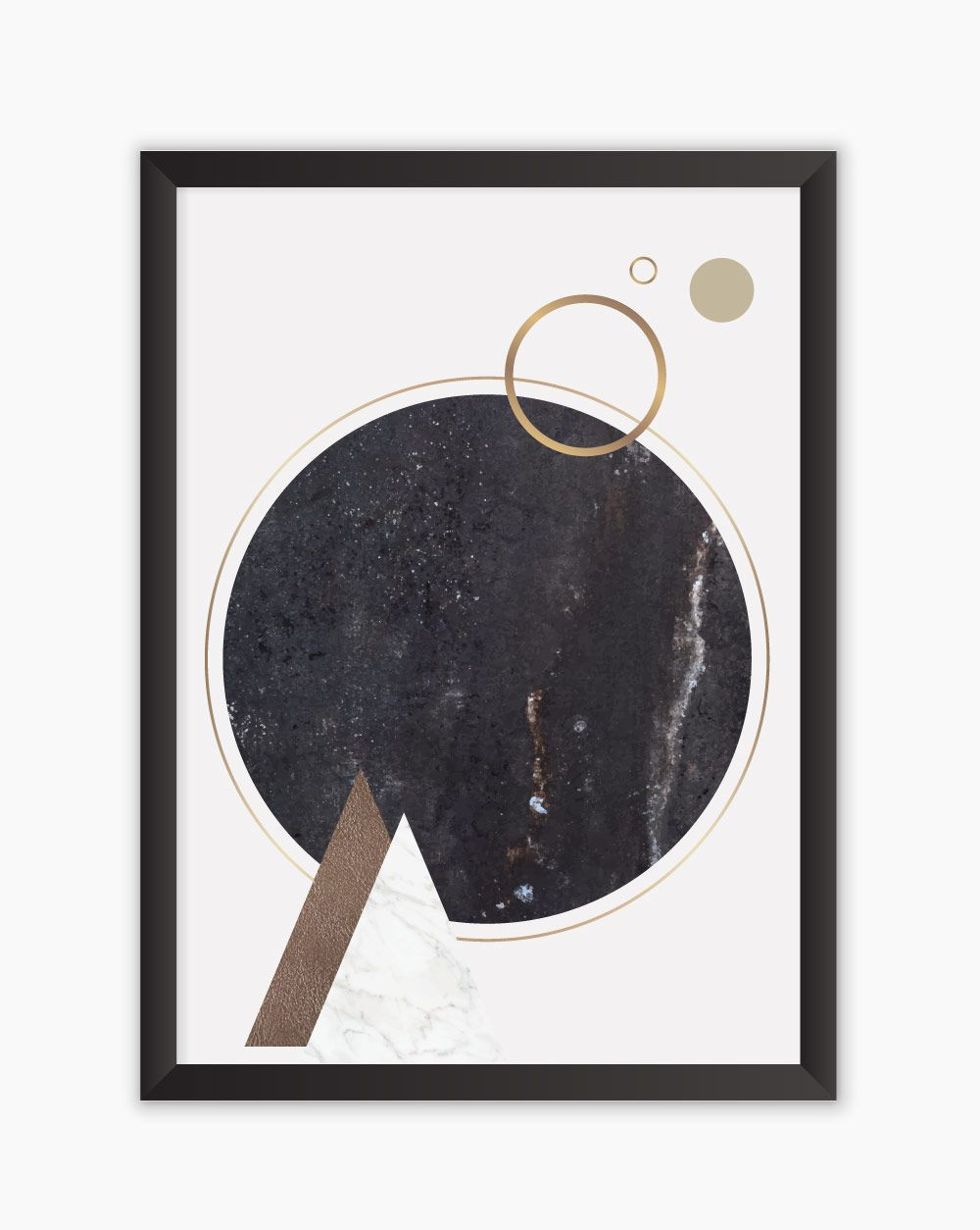 Quadro Black Marble