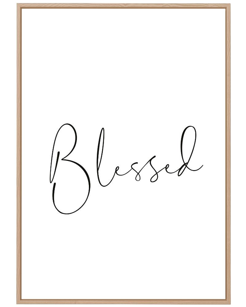 Quadro Blessed