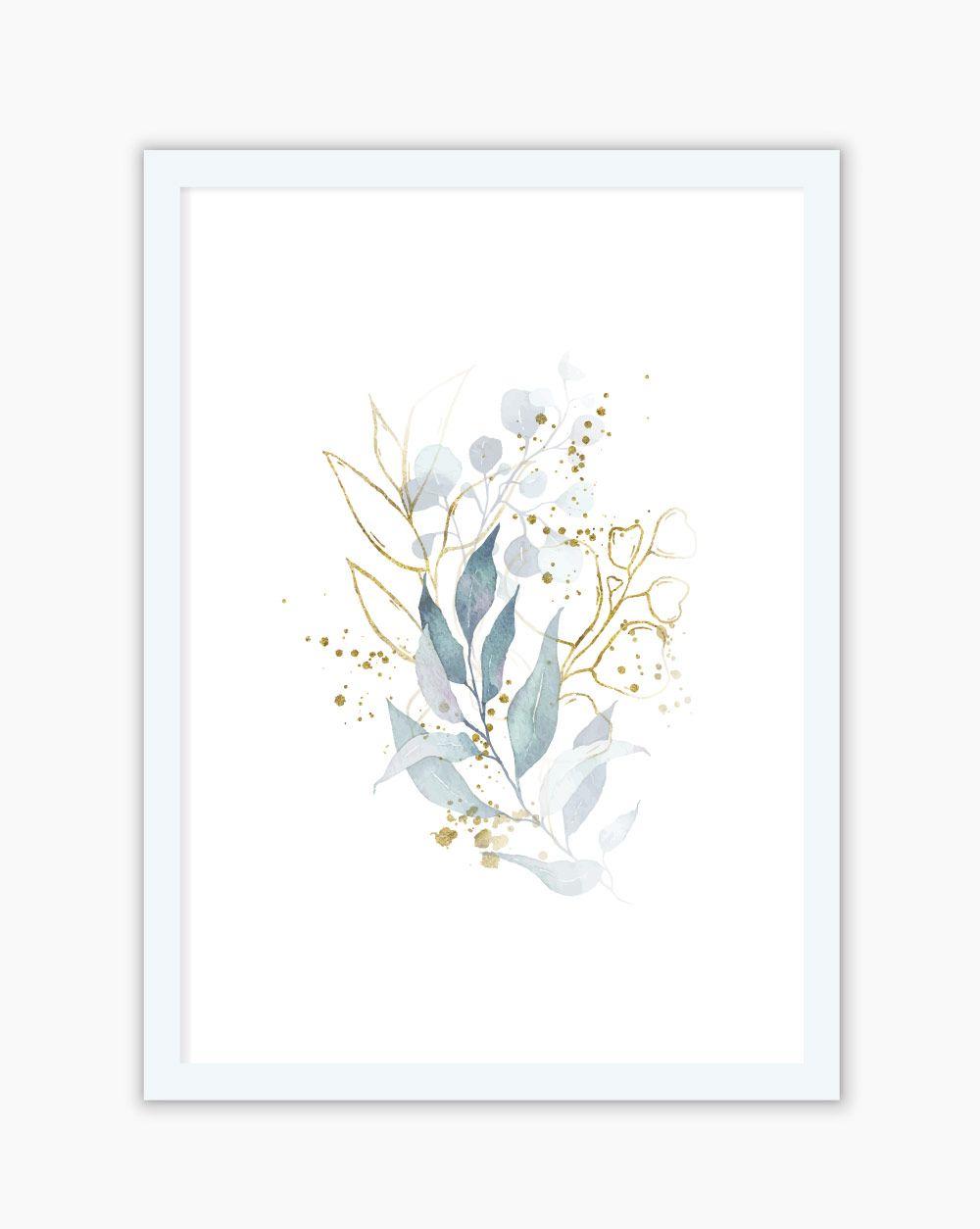 Quadro Blue Flowers