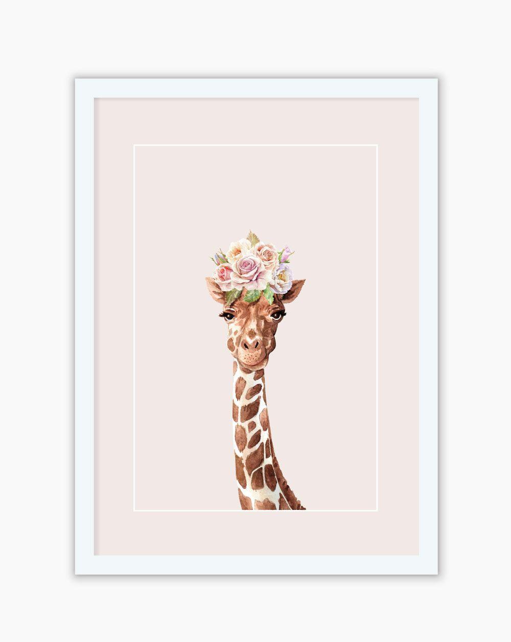 Quadro Blush Giraffa