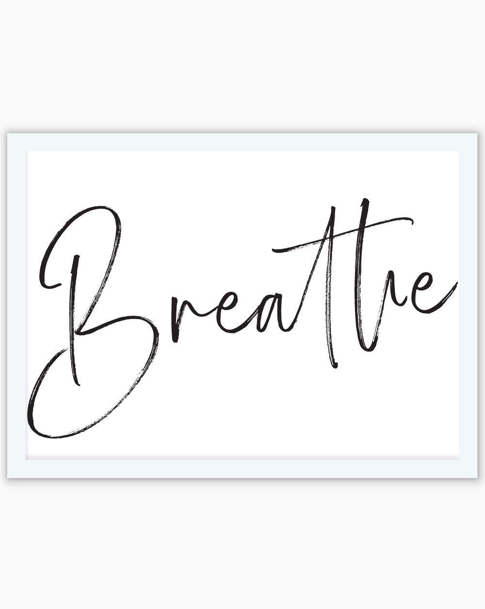 Quadro Breathe (HORIZONTAL)