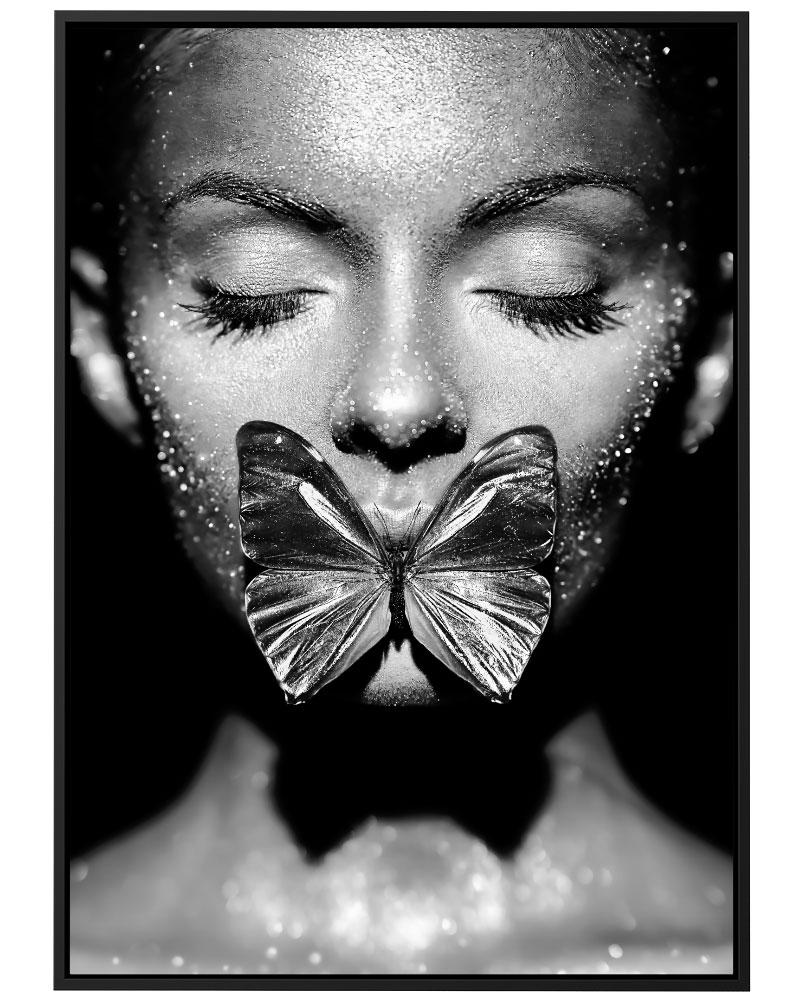 Quadro Butterfly Kiss