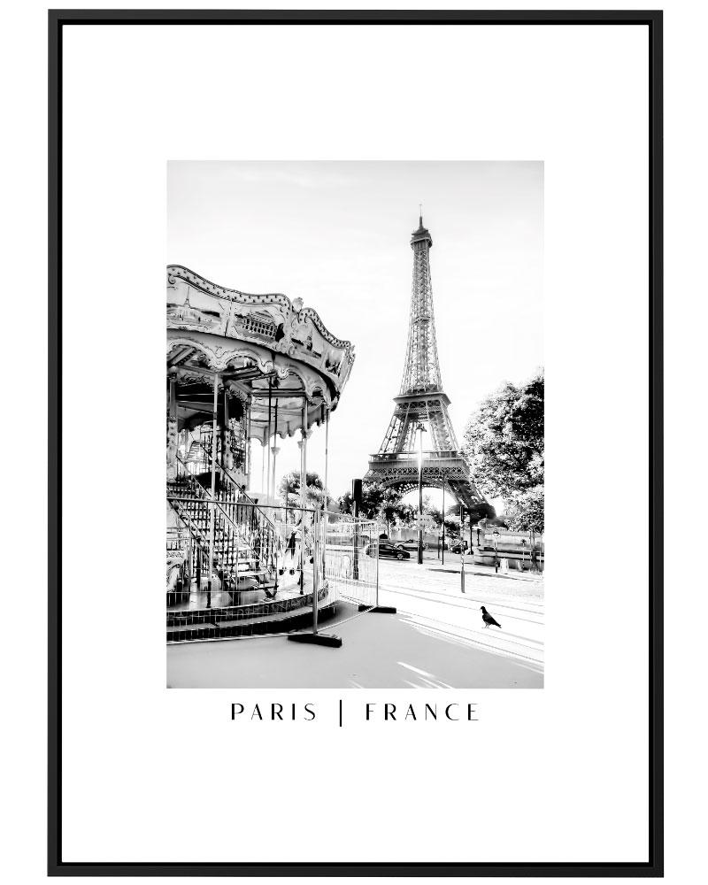 Quadro Carrossel Paris