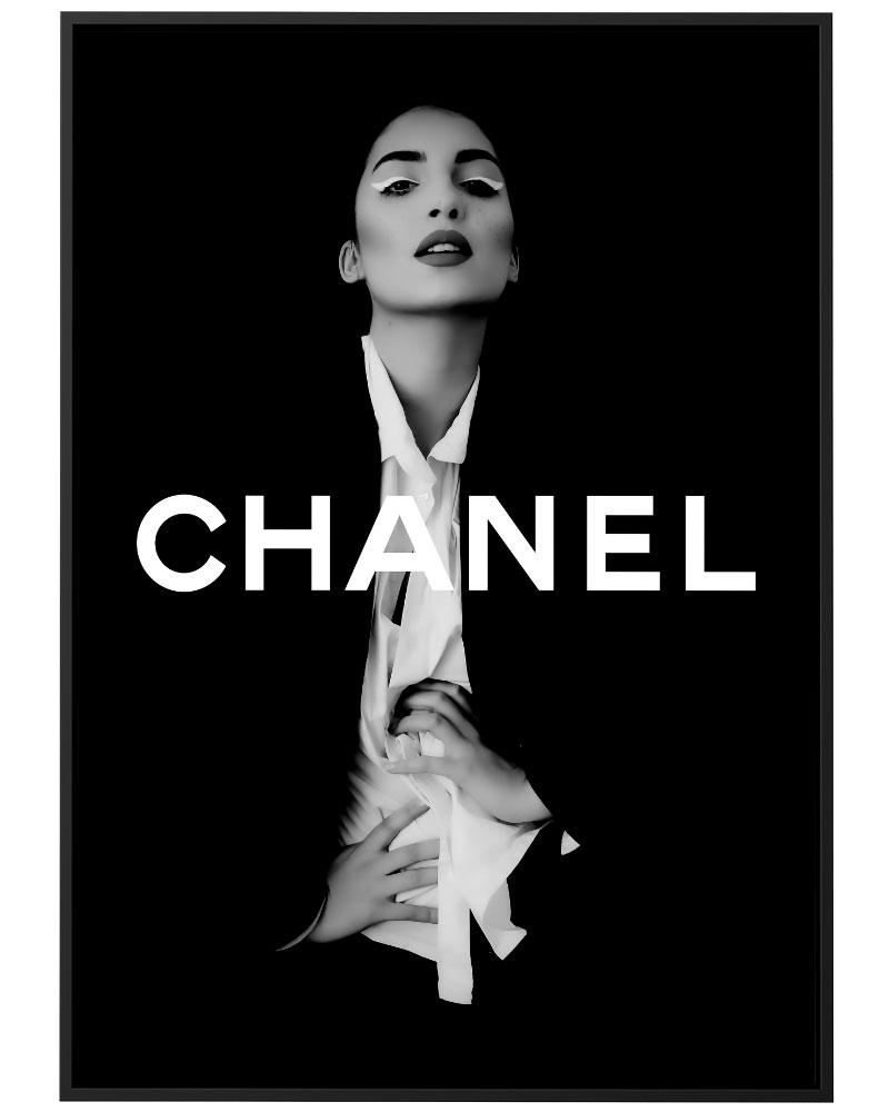 Quadro Chanel Model