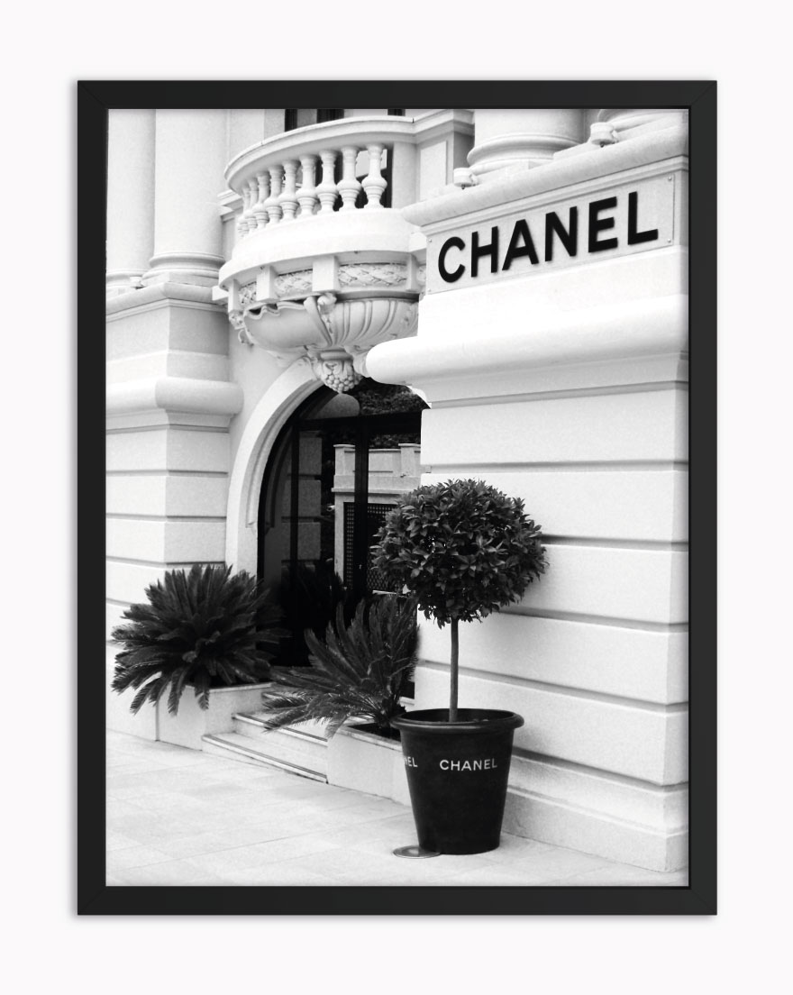 Quadro Chanel Store